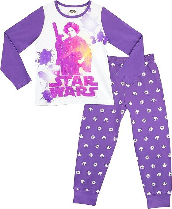 Star Wars - Pijama para niñas - Princesa Leia - 10 a 11 Años ...