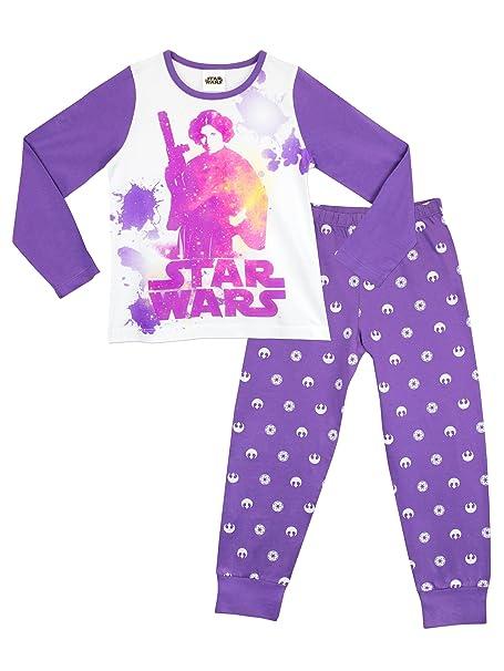 Star Wars - Pijama para niñas - Princesa Leia - 12 a 13 Años