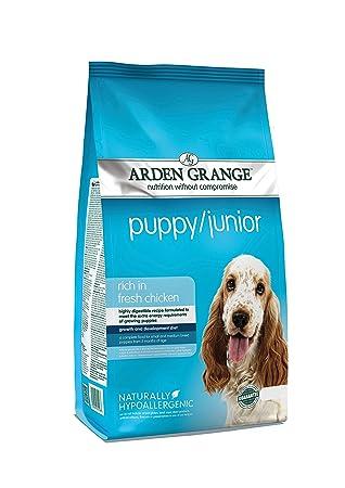 Arden Grange Complete Dry Puppy/Junior Food Chicken, 6 kg