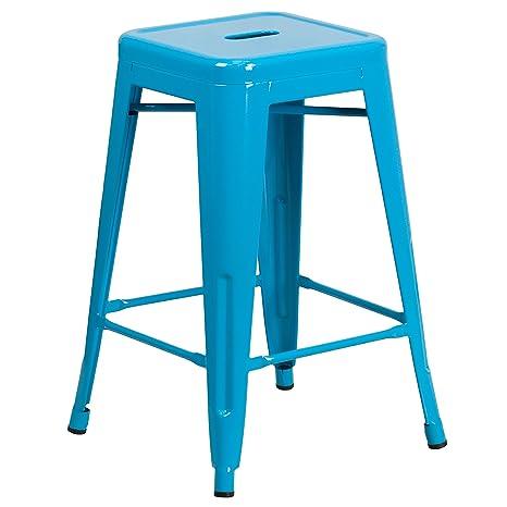 Tremendous Amazon Com Trent Austin Design Lompoc 24 Distressed Metal Camellatalisay Diy Chair Ideas Camellatalisaycom