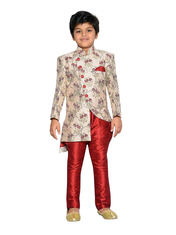 AJ Dezines Kids Festive and Party wear Sherwani Set for Boys