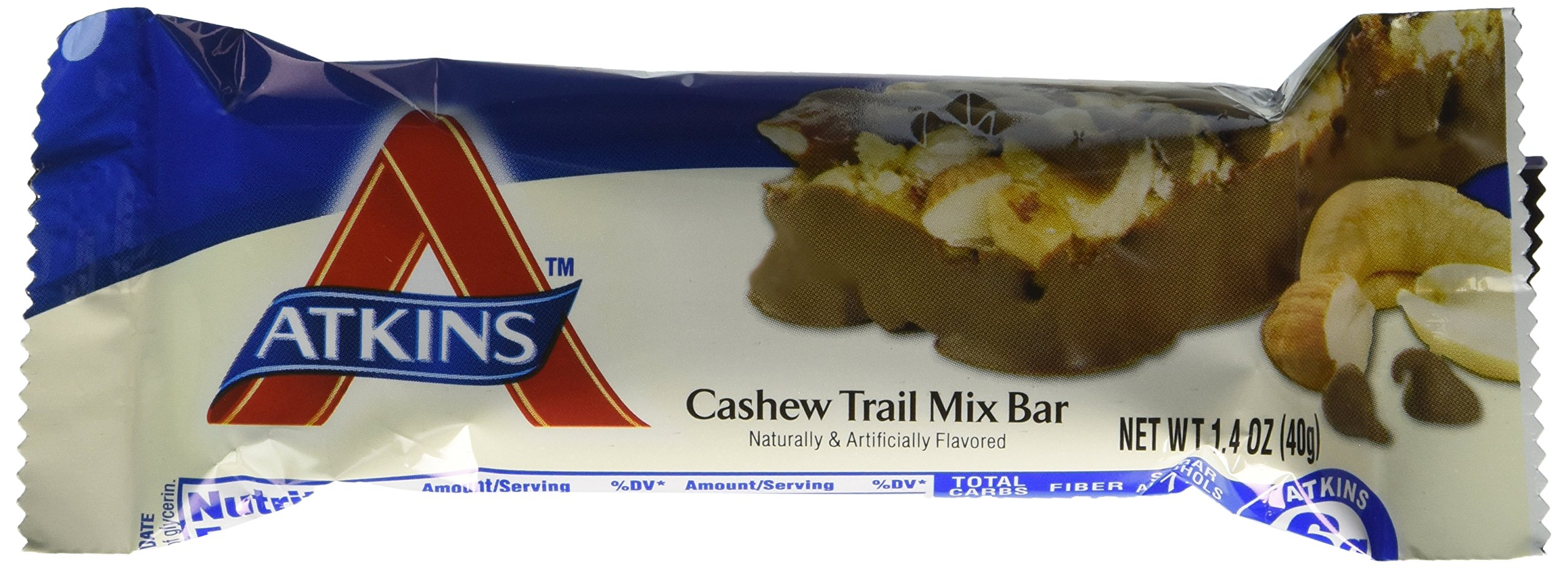 Atkins 1061175 Advantage Bar 5 Bars Cashew Trail Mix