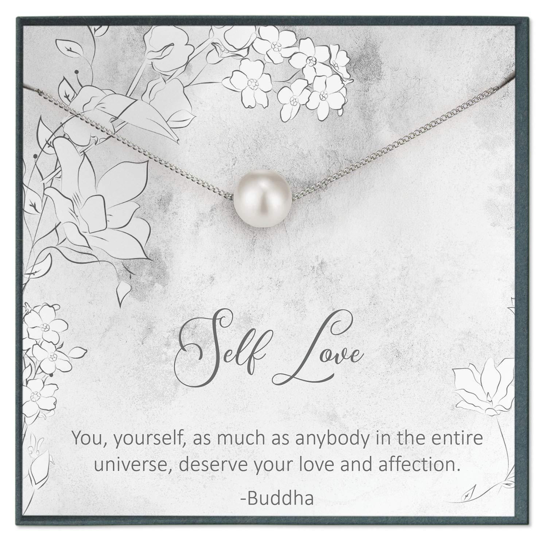 Amazon com: Self Love Quotes Jewelry Self Love Necklace