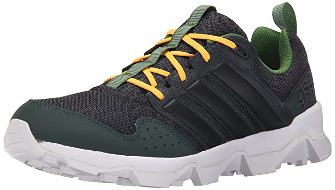 the latest 96358 759e4 adidas Outdoor Mens GSG9 Trail Running Shoe, Dark GreyBlackWhite, 8.5