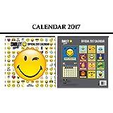 SMILEY WORLD OFFICIAL CALENDRIER 2017 + SMILEY WORLD AIMANT DE RÉFRIGÉRATEUR