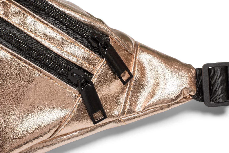 ri/ñonera se/ñora 02012243 Color Dorado styleBREAKER ri/ñonera en apariencia met/álica y cremallera bolso para la cadera