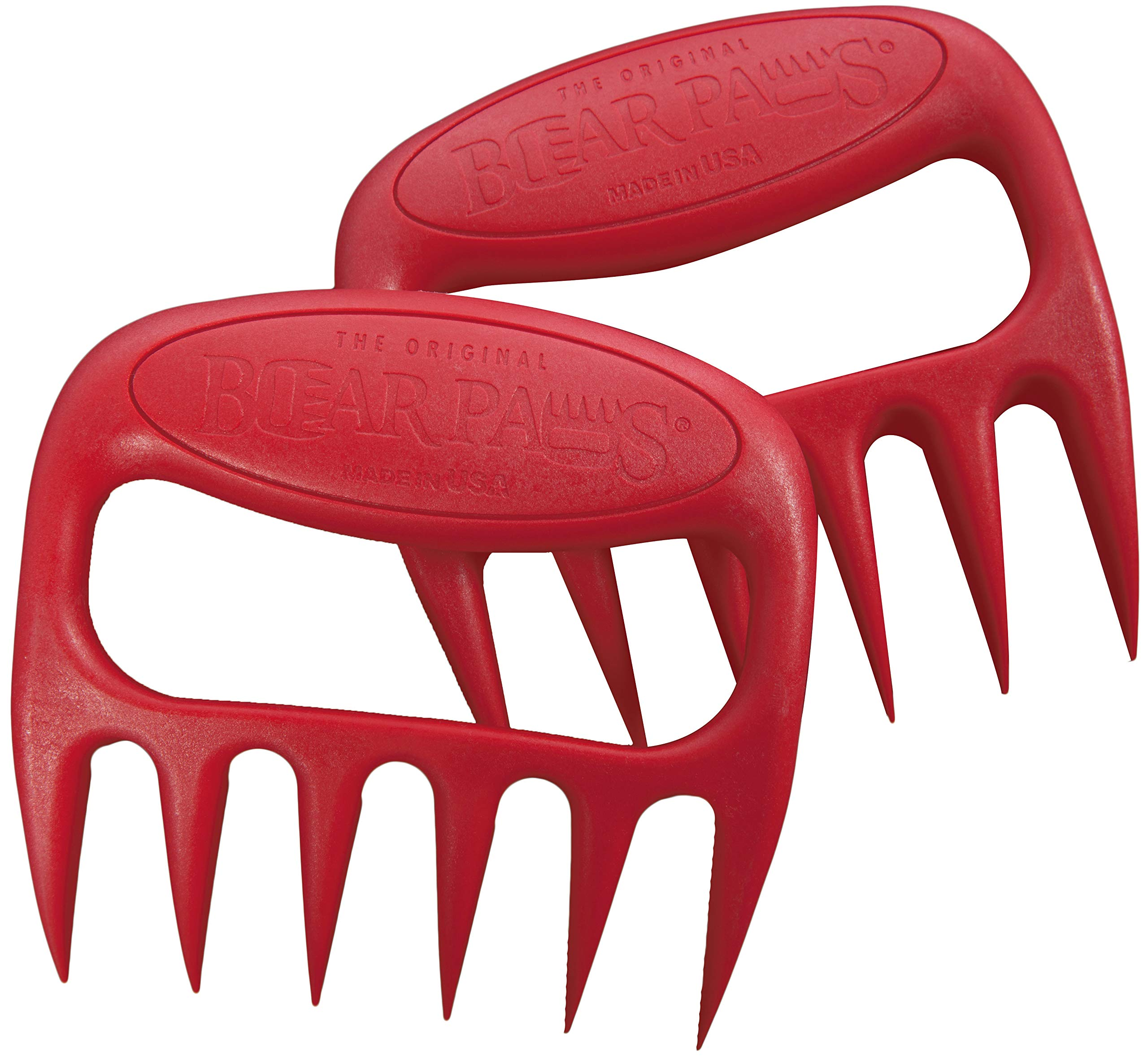 The Original Bear Paws Shredder Claws - Easily Lift, Handle, Shred, and Cut Meats - Essential for BBQ Pros - Ultra-Sharp by Bear Paw Products