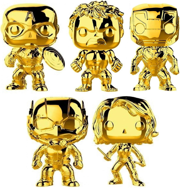Brand New In Box Chrome Funko Iron Man POP Marvel: Marvel Studios 10