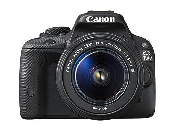 """Canon EOS 100D - Cámara réflex digital de 18 MP (pantalla táctil LCD de 3"""""""