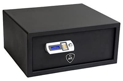 Verifi Smart.Safe. Fast Access Biometric Safe with FBI Fingerprint Sensor