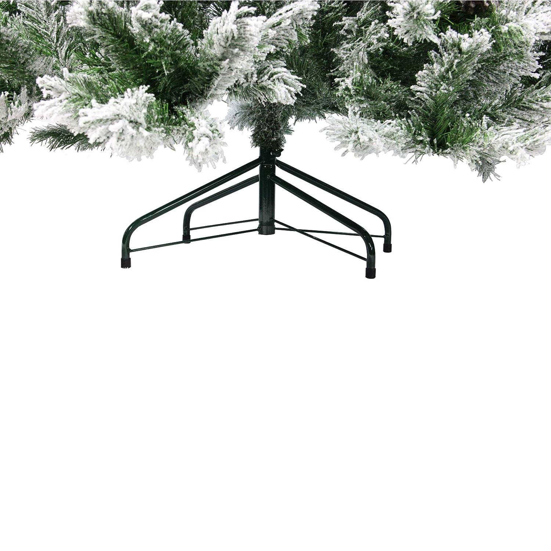 Green Northlight Angel Pine Cones Christmas Tree 6