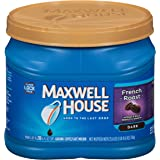 Maxwell House French Roast Dark Roast Ground Coffee (25.6 oz Canister)