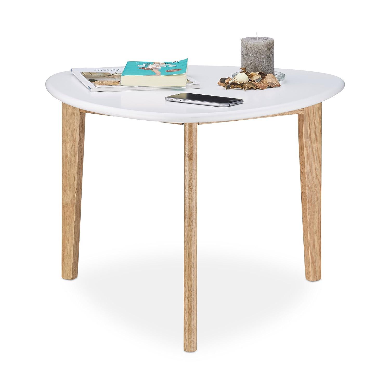 Couchtisch / Beistell-tisch im Retro-Stil, Sofatisch mit drei Beinen ...