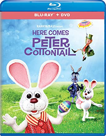 Here Comes Peter Cottontail Blu-ray + DVD - BD Combo Pack