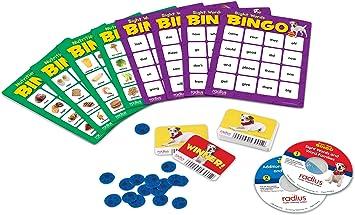 Learning Resources Recursos para el Aprendizaje LER6948 Radius Jugada maestra Bingo CD Card Set: Amazon.es: Juguetes y juegos