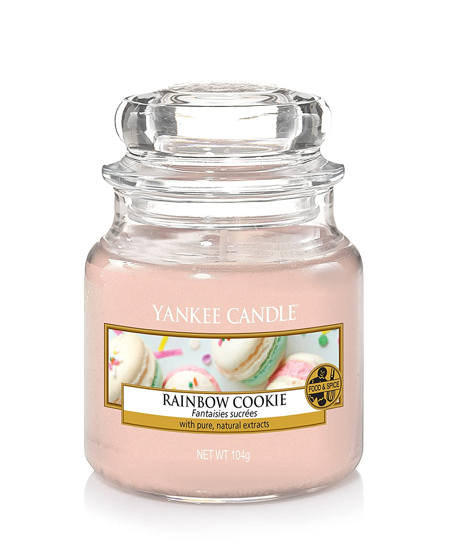 Yankee Candle Candela Piccolo Vaso, Biscotto Arcobaleno 1577139E