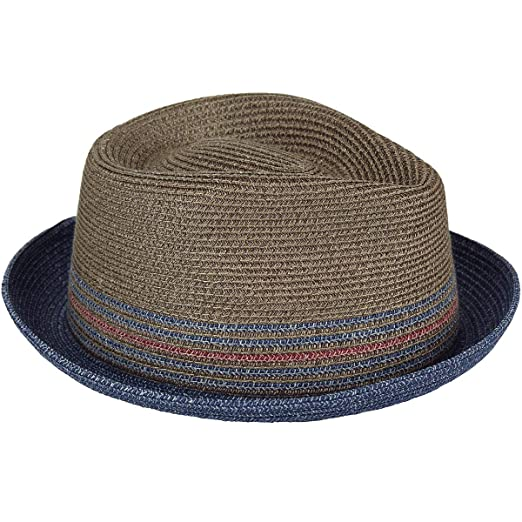 86a2a640705c1 Bailey of Hollywood Men s Hooper Braided Fedora Trilby Hat at Amazon Men s  Clothing store