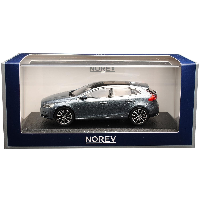 Norev Volvo V40 Kombi Osmium Grau 2 Generation Ab 2012 1//43 Modell Auto mit individiuellem Wunschkennzeichen