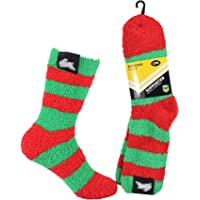 NRL Women's Bed Socks, South Sydney Rabbitohs