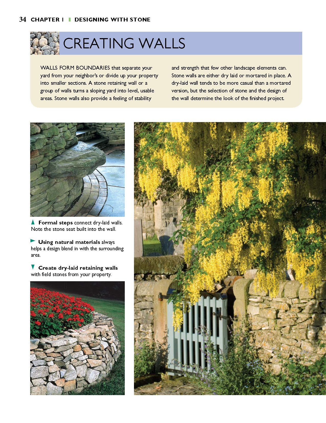 Awesome Natural Retaining Wall Ideas Elaboration - Wall Art ...