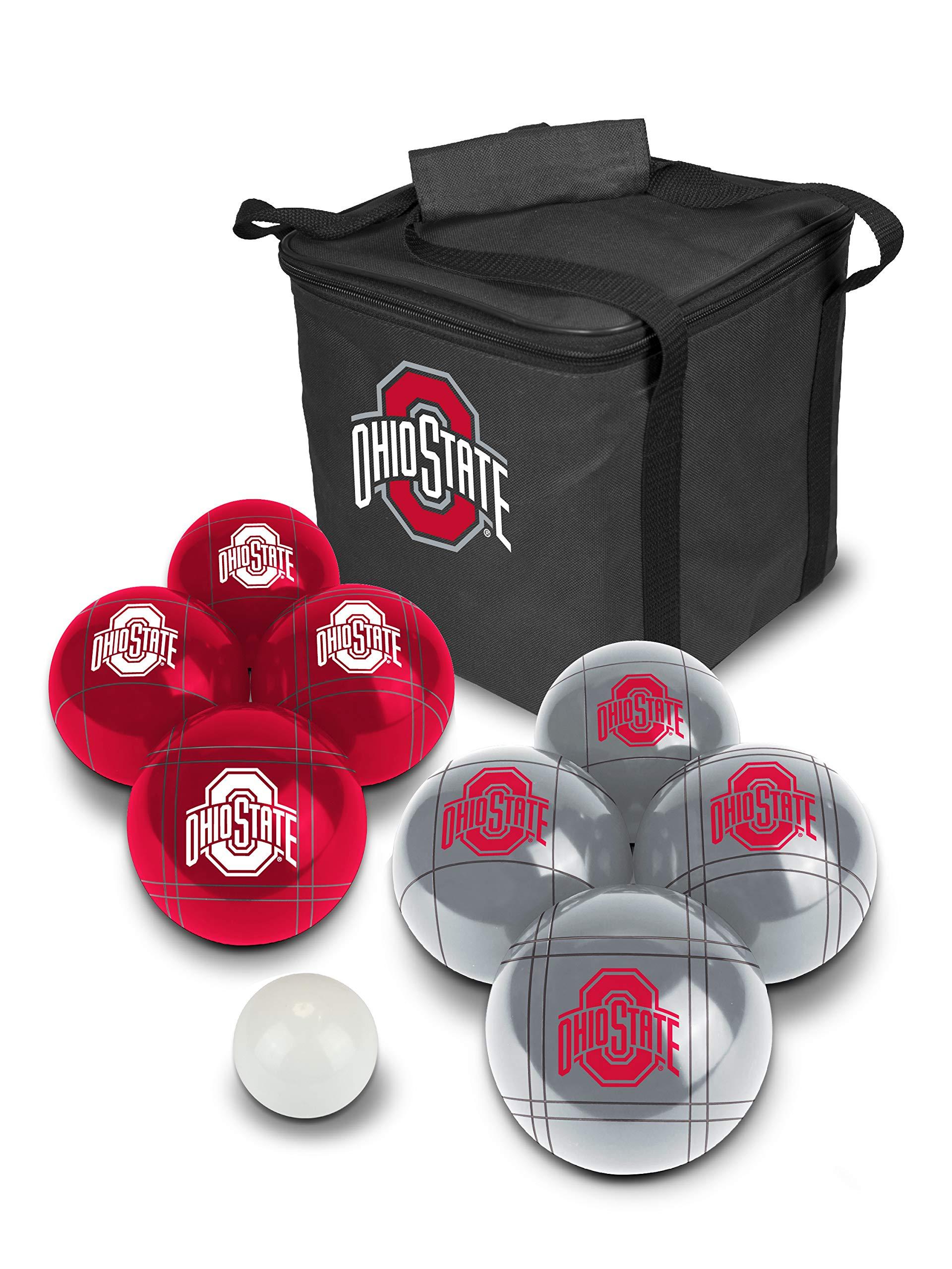PROLINE NCAA College Ohio State Buckeyes Bocce Ball Set by PROLINE