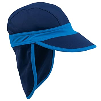 534af302f52 Image Unavailable. Image not available for. Color  Navy Blue Baby Sun Hat  ...