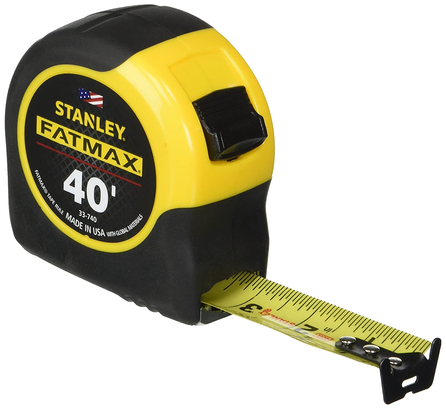 Stanley 33-716 16-Foot-by-1-1//4-Inch FatMax Tape Rule with Blade Armor