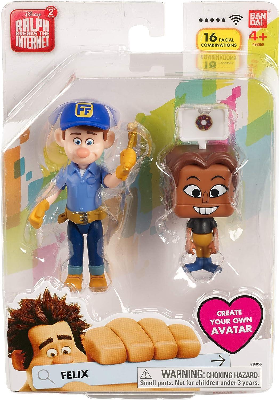 Amazon Com Wreck It Ralph 2 Disney S Ralph Breaks The Internet Figure Felix Toys Games