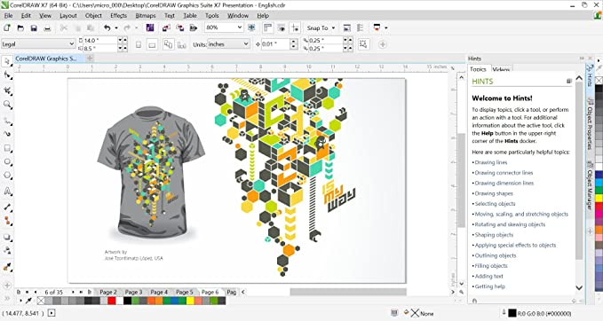 CorelDRAW Graphics Suite X7 [Download] (Old Version)