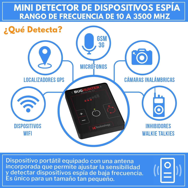 Detector De Radio Frecuencias GSM, WIFI LTE, 3G, 4G   BH ...