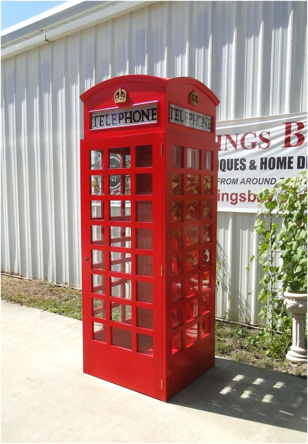 Amazon.com: Red British London Telephone Booth Cast Iron Replica ...