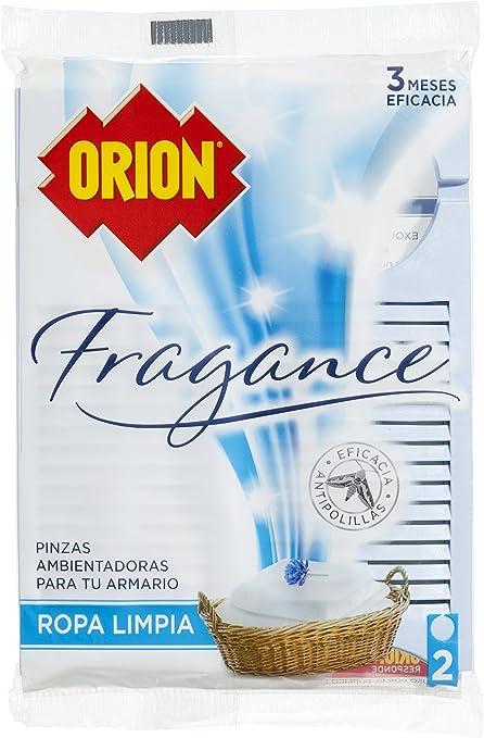 Orion Pinzas Ambientadoras para el Armario Fragance - 2 Unidades: Amazon.es: Alimentación y bebidas