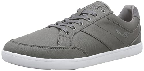 beaee1827083 Boxfresh Creeland Inc Hclth SDE Grif Gry Cdt, Men s Low-Top Sneakers ...