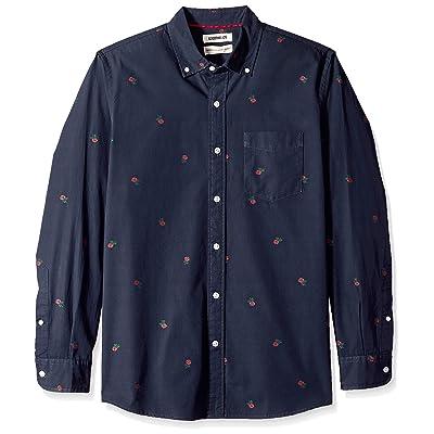 Brand - Goodthreads Men's Standard-Fit Long-Sleeve Dobby Shirt: Clothing