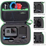Carrying Case for GoPro Hero 5, 4, Black, Silver, 3+, 3 and Accessories,HSU Protective Security Bag, Storage Solution for Adventurers-UPGRADED INTERIOR FOAM