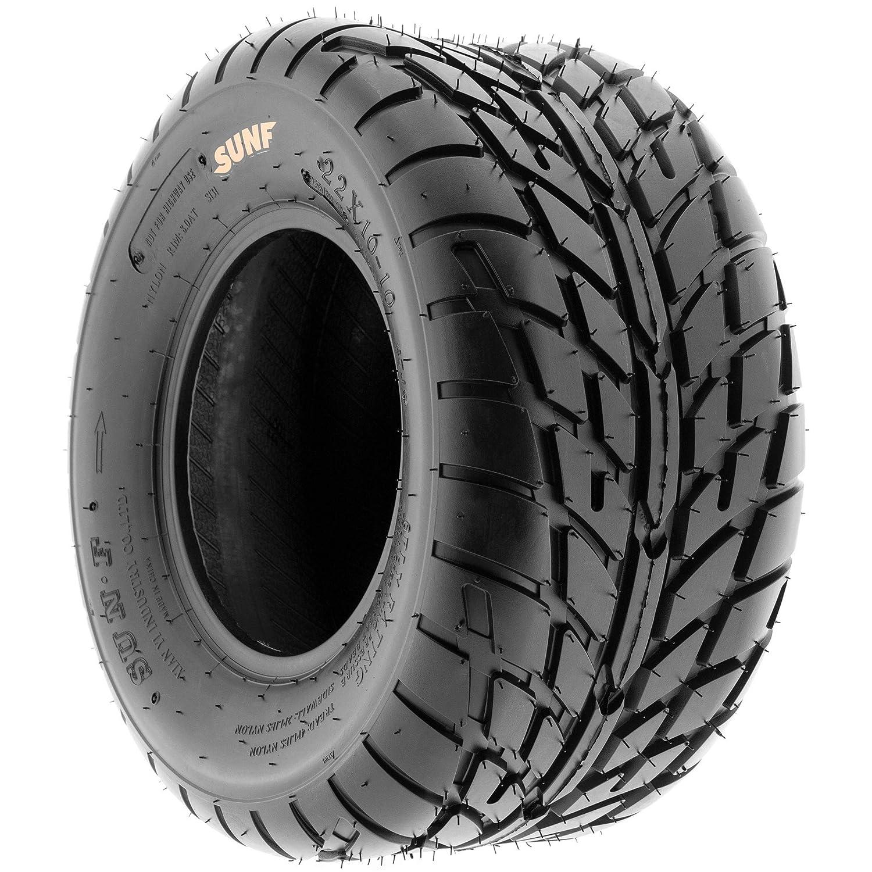 Set of 4 SunF A021 TT Sport ATV UTV Flat Track Tires 22x7-10 Front /& 25x10-12 Rear Tubeless 6 PR