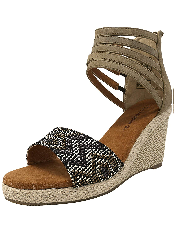 BEARPAW Damenschuhe Calla Wedge Sandale - Ivory Größe 8 - Sandale 6ba57e