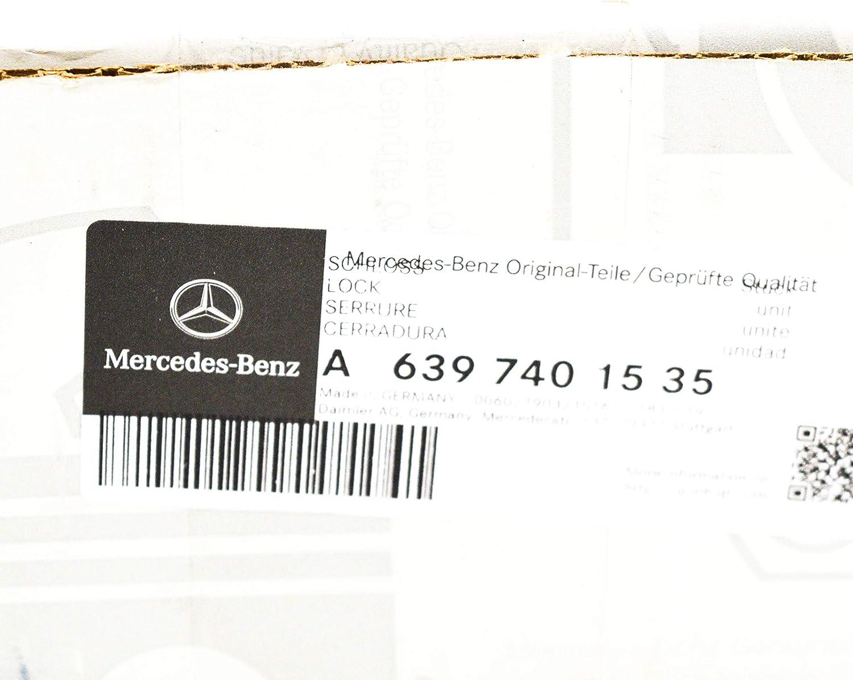 MB W639 - Cerradura para portón trasero A6397401535: Amazon.es: Coche y moto