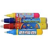 Rangebow 4 x Aqua Water Doodle Ersatz Stifte 2 x groß 2 klein für alle Aqua-Zeichnung-Matten Zeichnung Malerei Bretter Wasser Zeichnung Doodle Magic Four Pens für 3 Jahre plus