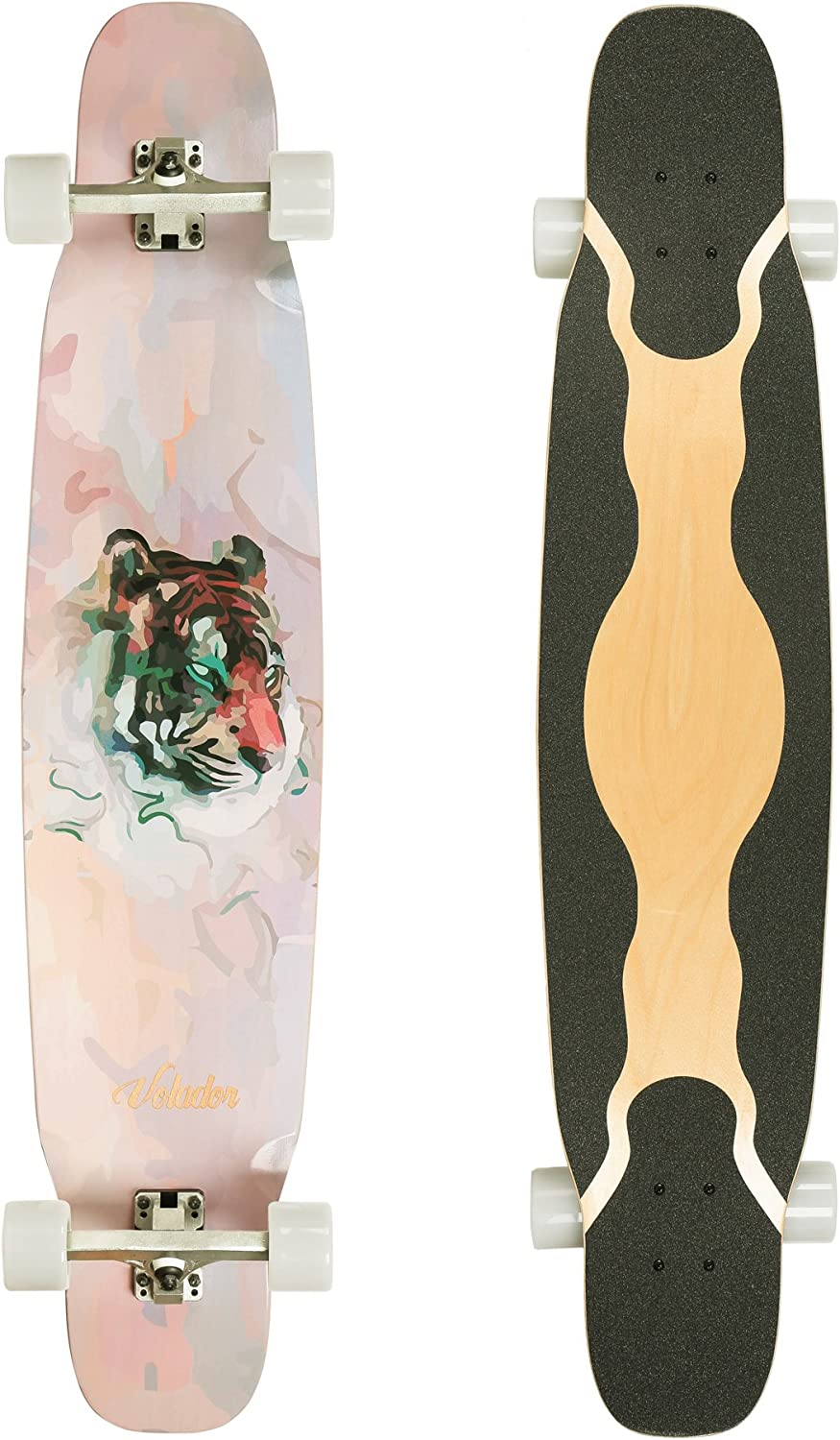 VOLADOR 46inch Maple Dancing Longboard
