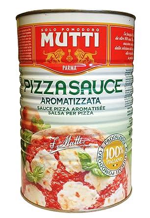 Wurzige Pizzasauce Von Mutti 4100g Dose Salsa Per Pizza Aromatizzata Amazon De Lebensmittel Getranke