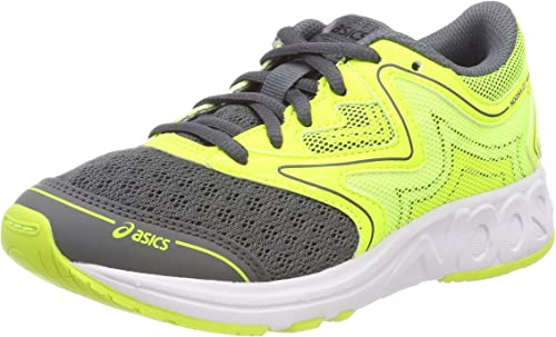 Asics Noosa GS, Zapatillas de Running Unisex Niños, Amarillo (Carbon/Safety Yellow/Mid Grey 9707), 35.5 EU: Amazon.es: Zapatos y complementos