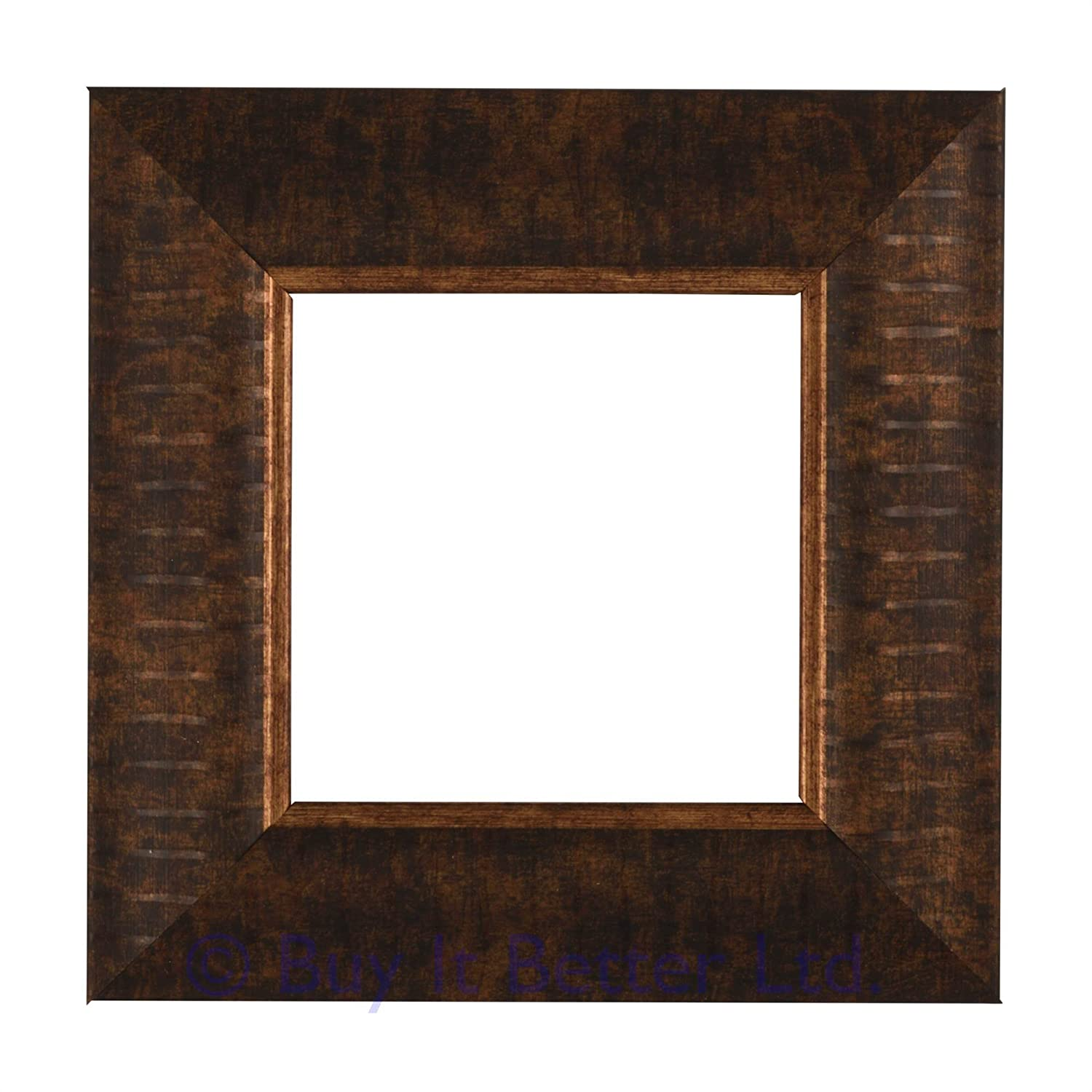 Switch Surround Frame Cover Finger Plate Verona Antique Brass Stripe Effect