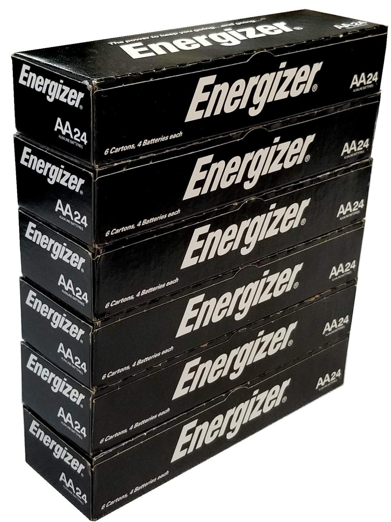 Energizer AA Max Alkaline E91 Batteries Made in USA - Expiration 12/2024 or Later - 144 Count (144) by Energizer