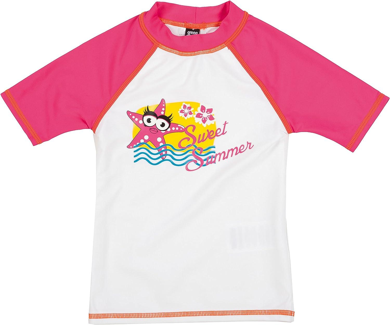 ARENA M/ädchen Awt Uv S//S T-Shirt