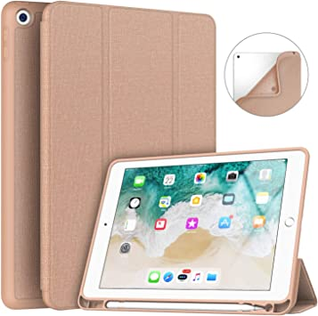 Case Apple iPad 9.7 Inch 2017//2018 Case Soft Leather S 5th//6th Generation