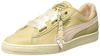 dda70dcb8de6a Puma Women's Basket Heart Coach Wn S Fm Sneakers