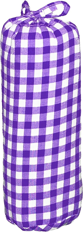 7 mm con angoli elasticizzati colore: Arancione TAFTAN HD-214 Lenzuolo a scacchi in cotone 70 x 140 cm