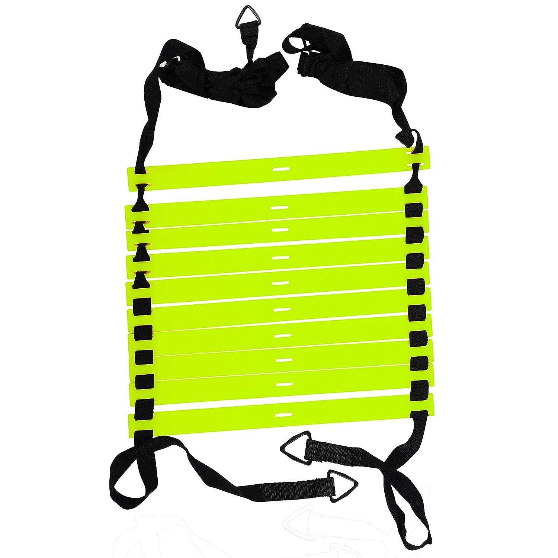 Acc/él/ération DE formation avec sac de transport Accélération Maayra Retail Pvt Ltd Grazzo /Échelle dagilit/é Vitesse /équipement dentra/înement pour jeu de jambes de haute intensit/é