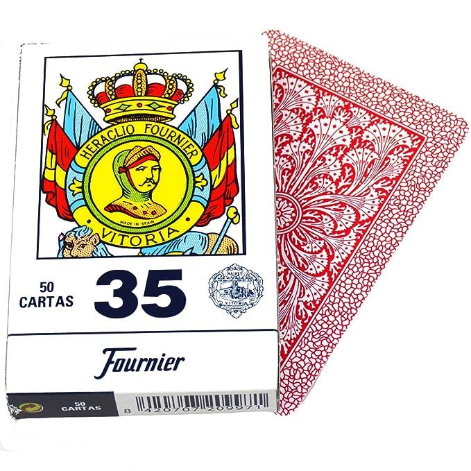 Deck of 50 Fournier Spanish Playing Cards Catalan Face #35 Tuck Case - Baraja Española Catalana